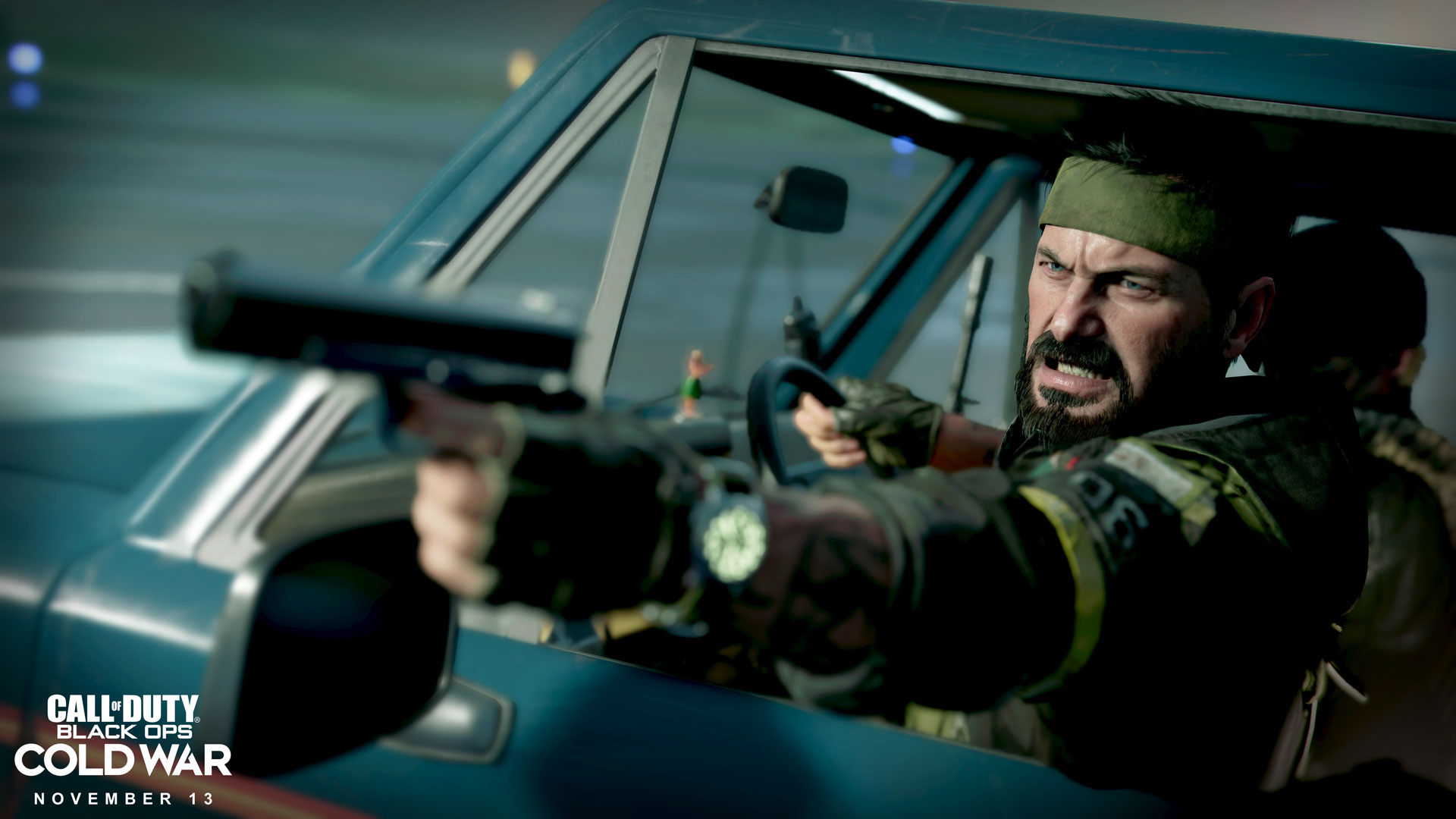 Like most Call of Duty games, <em>Black Ops: Cold War </em>features lots of angry dudes shooting at stuff.