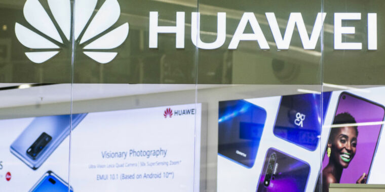 With Trump gone, Huawei tells Biden it's not a security threat - Ars Technica