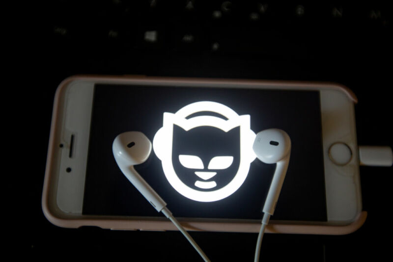 Napster sold for a song to UK virtual events company