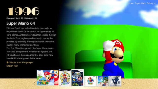 <em>Super Mario 3D All-Stars</em>for the Nintendo Switch.