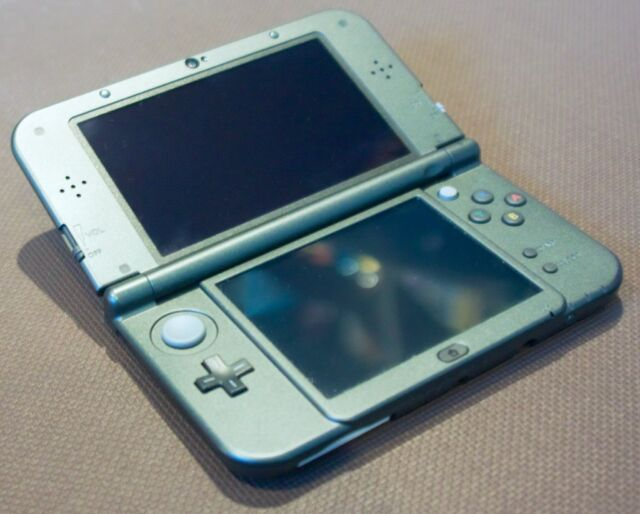 The 3DS XL line was meant for bigger hands and chunkier pixels.