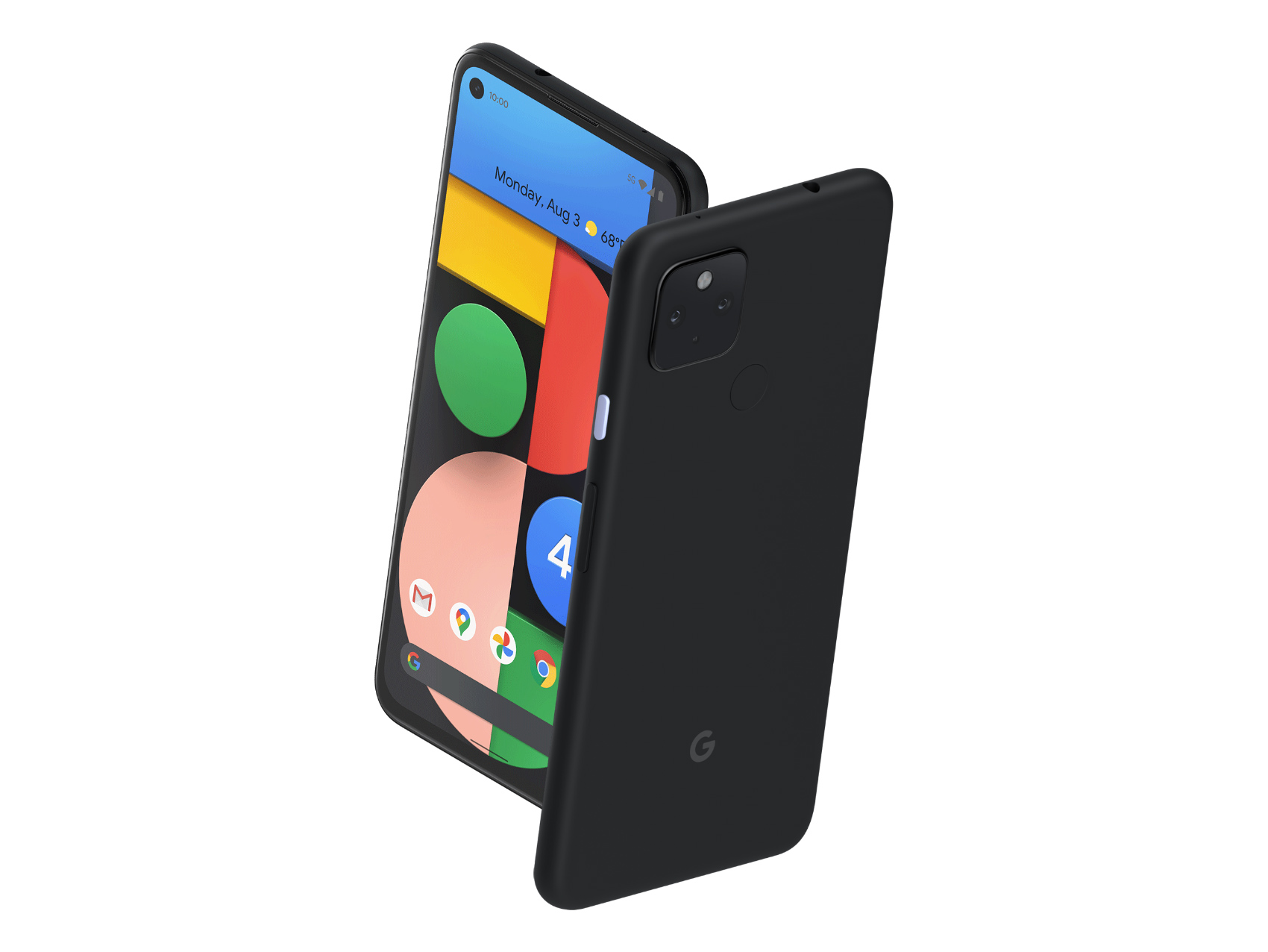 The Pixel 4a with 5G.