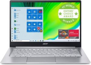 Asus Swift 3 & Dell XPS 13 (9300) product image