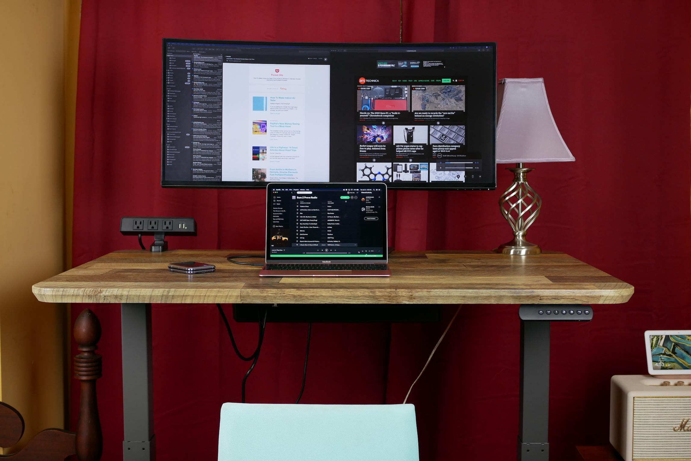 Dell's UltraSharp 34 monitor.