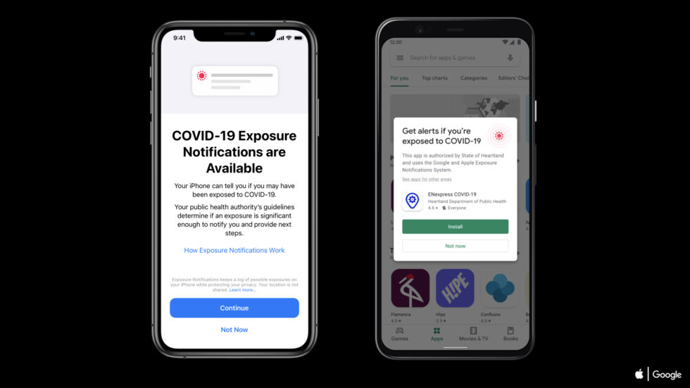 iOS 13.7 launched today with a new system for battling the pandemic