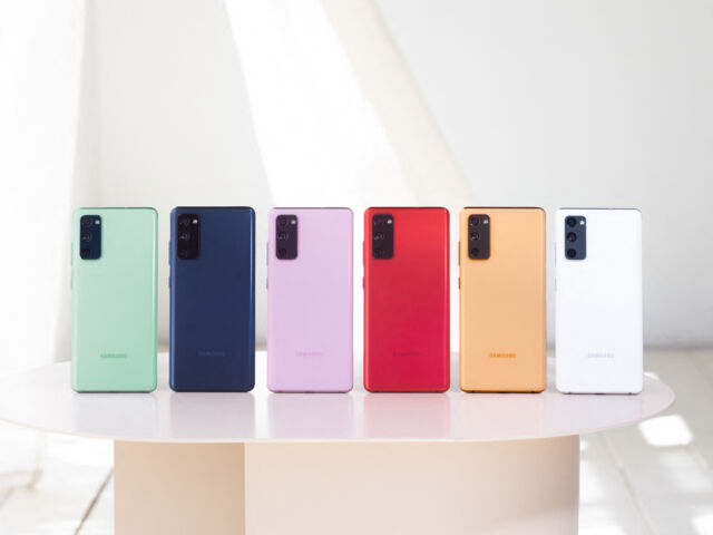 Samsung's Galaxy S20 Fan Edition is a 120Hz phone for $699