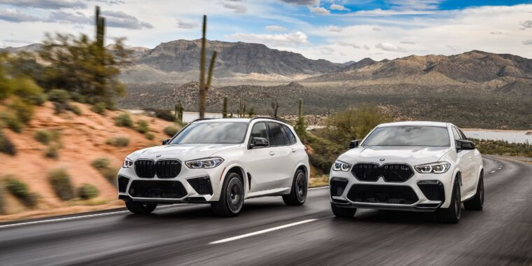 Turn up the sport, turn down the utility: The 2020 BMW X5 M and X6 M thumbnail