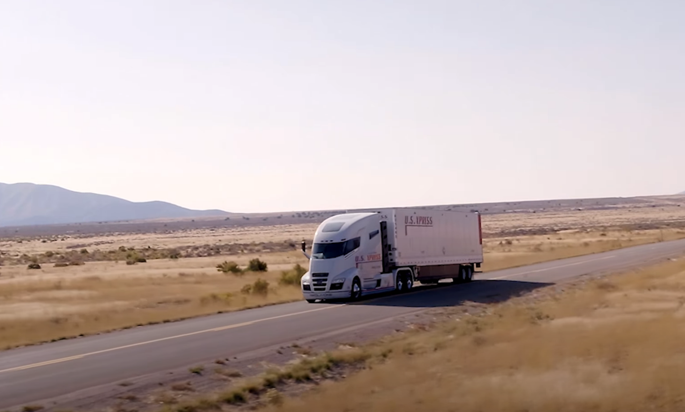 A 2018 Nikola video showed the Nikola One prototype rolling down a shallow hill in Utah. Nikola now says it never claimed the truck was driving under its own power.