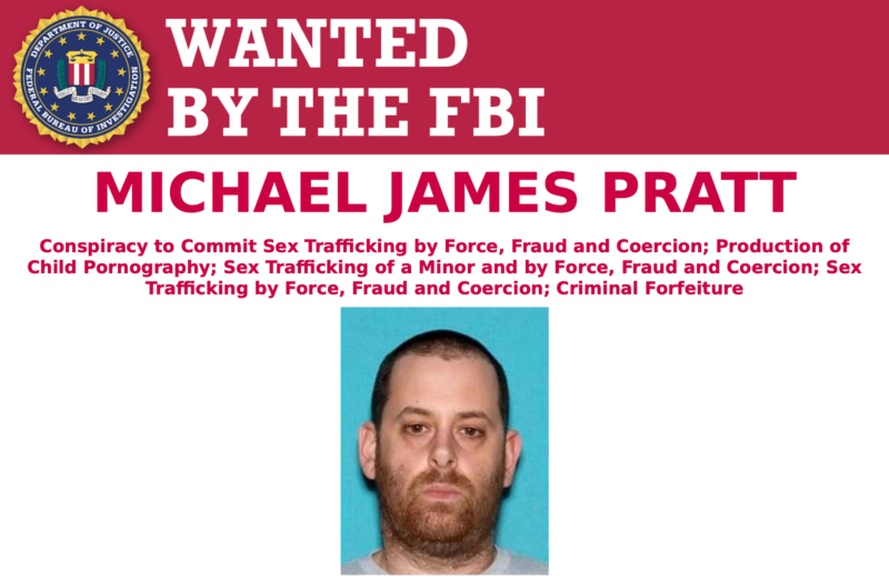 FBI offers $10,000 reward for GirlsDoPorn mastermind Michael Pratt
