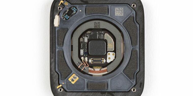 iFixit's Apple Watch Series 6 teardown reveals oxygen sensor, Taptic Engine