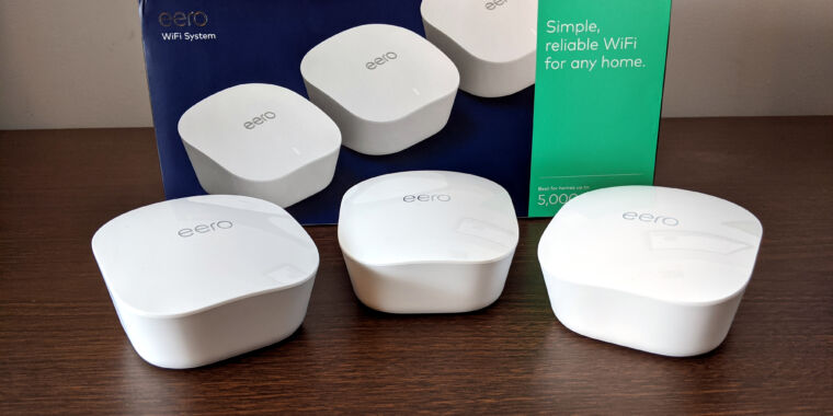 Eero mesh Wi-Fi 6 hardware test results have been spotted at the FCC