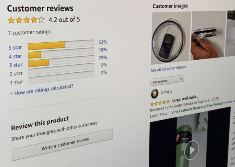 Amazon's top UK reviewers appear to profit from fake 5-star posts