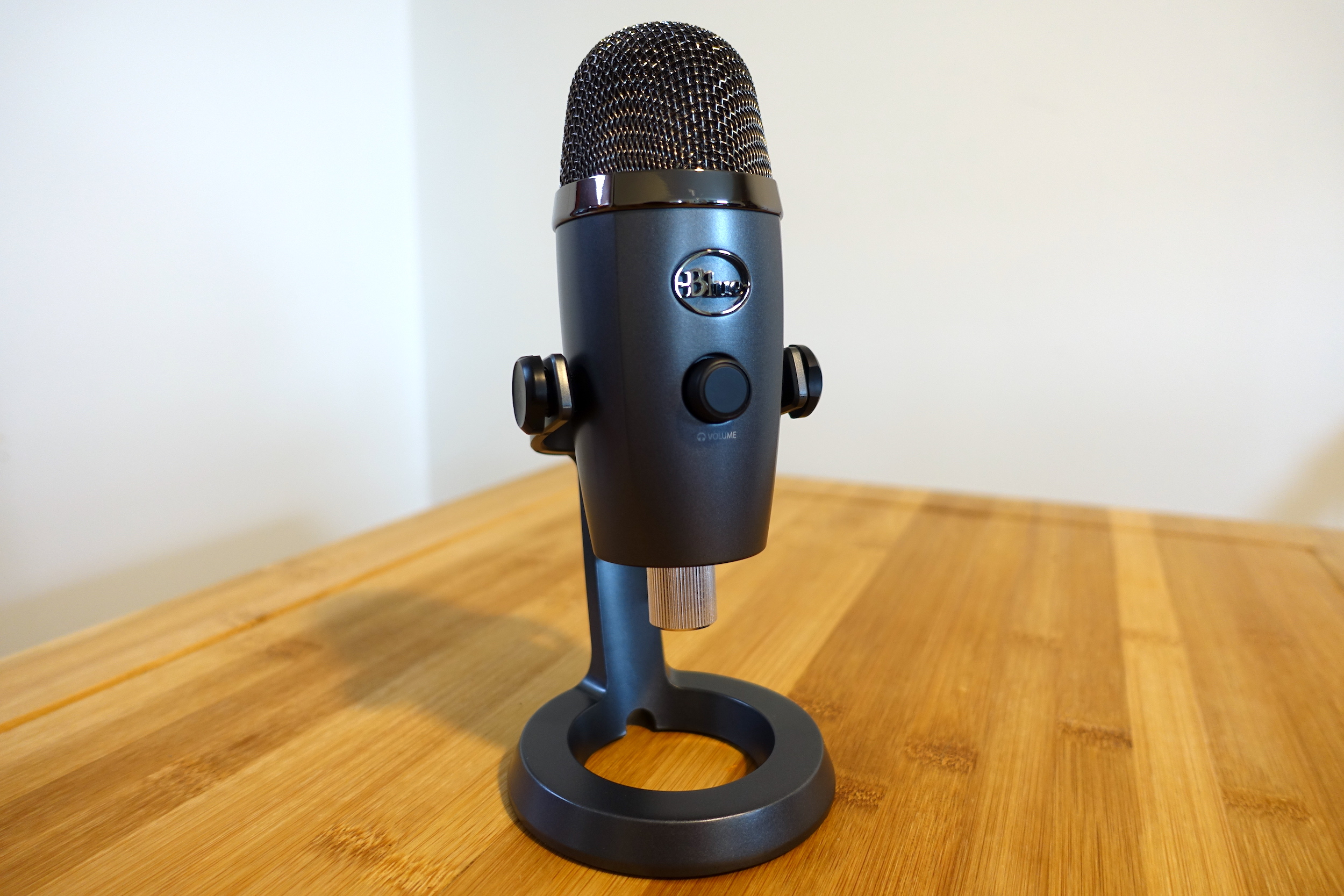 Blue's Yeti Nano is a classy upgrade over your laptop's built-in mic.