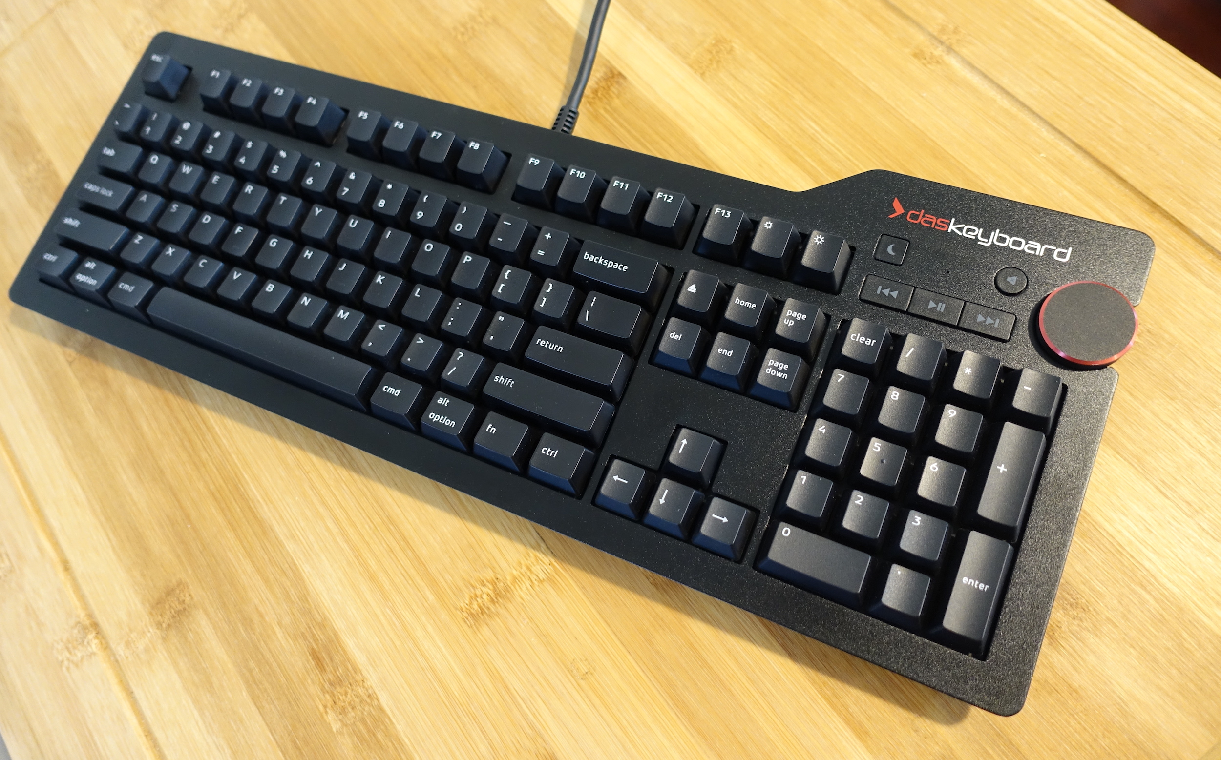 The Das Keyboard 4 Professional has been around for a few years now but is still a good buy among full-size mechanical keyboards.