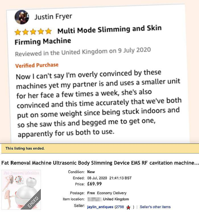 fake review - Amazon's high UK reviewers seem to revenue from pretend 5-star posts
