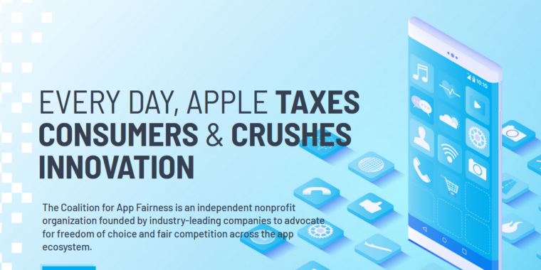 """Epic Spotify and others take on Apple with """"Coalition for App Fairness"""" – Ars Technica"""