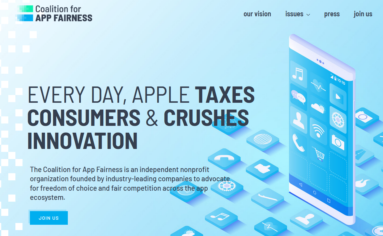 Epic Spotify And Others Take On Apple With Coalition For App Fairness Ars Technica