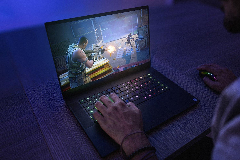 The Razer Blade 15 gaming laptop.