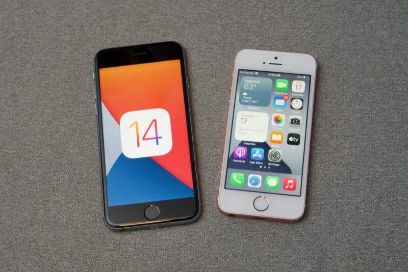 Ios 14 On The Iphone 6s And Se Performance Is Fine Other Stuff Is Not Ars Technica