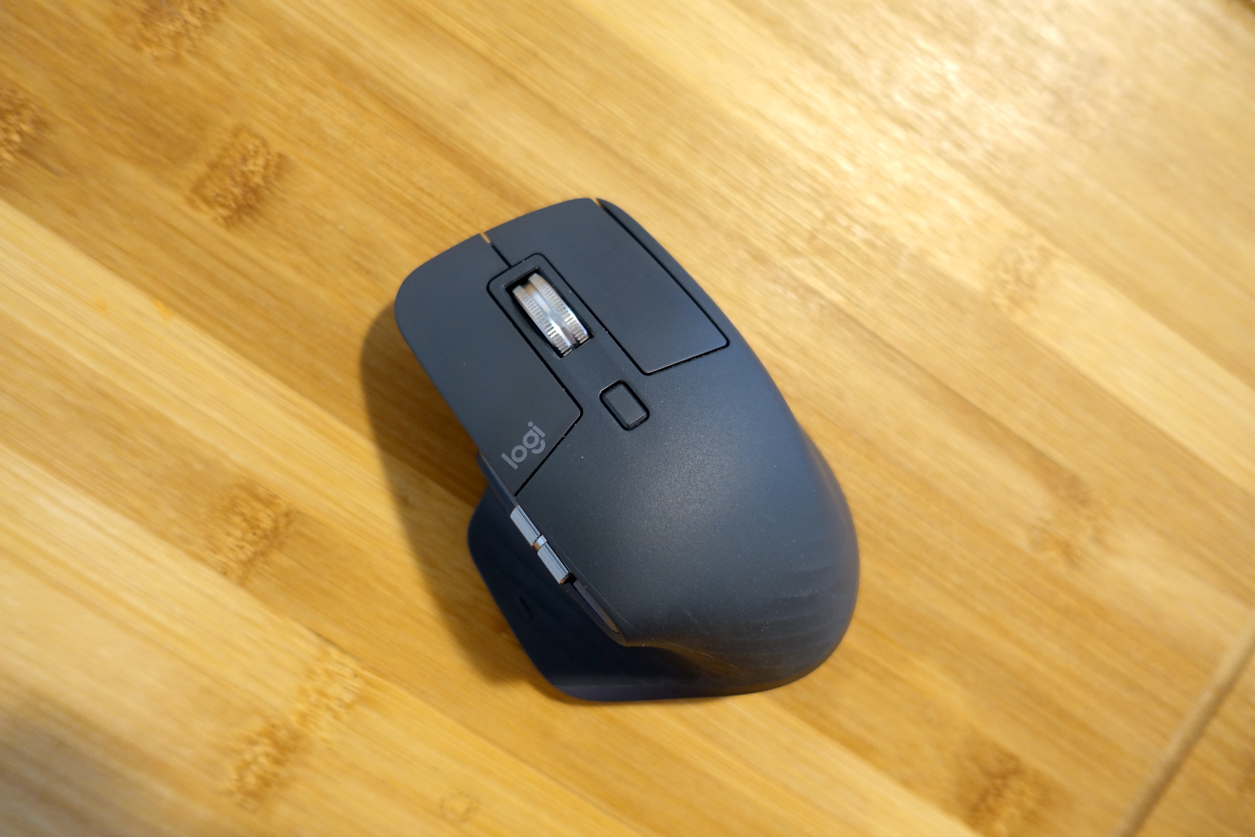Logitech's MX Master 3 wireless mouse.