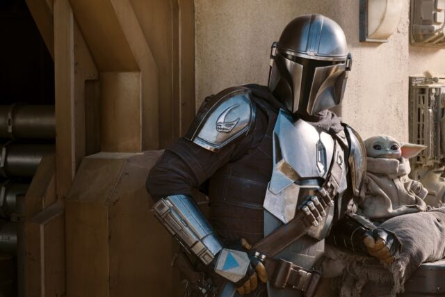 Mandalorian and Child.