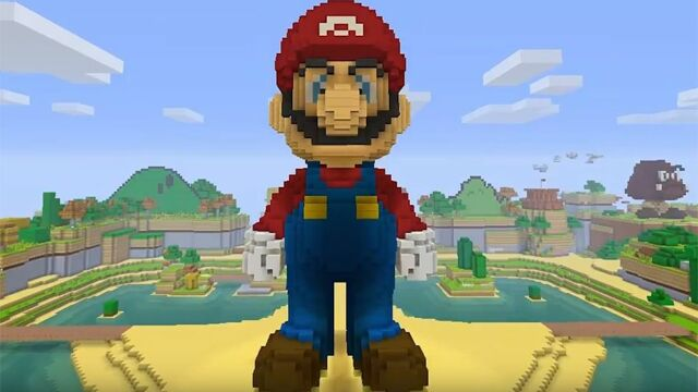 The sight of an official Mario-themed <em>Minecraft</em> pack may give hope to Bethesda fans who want their games on non-Microsoft consoles.