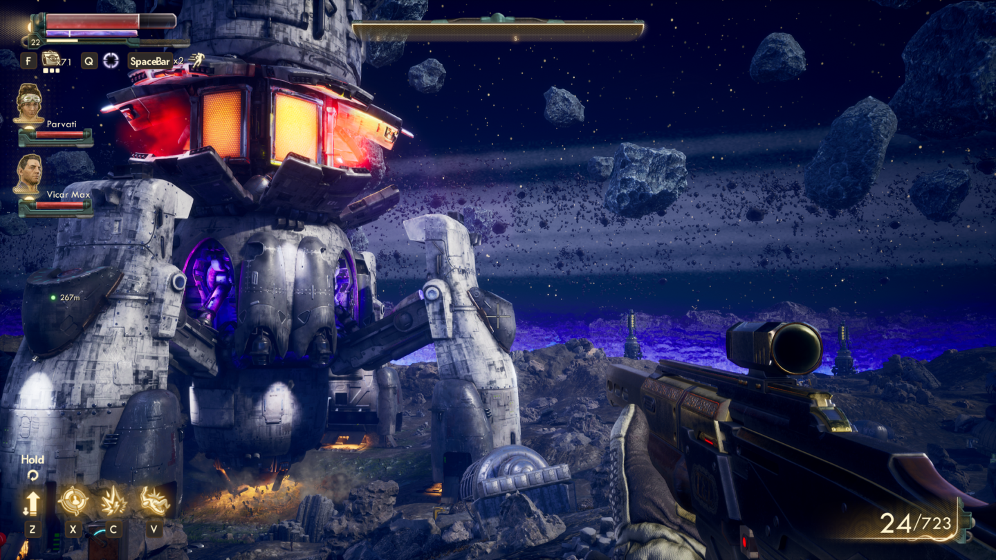 <em>The Outer Worlds</em> was in development for PS4 long before Microsoft purchased its developer.