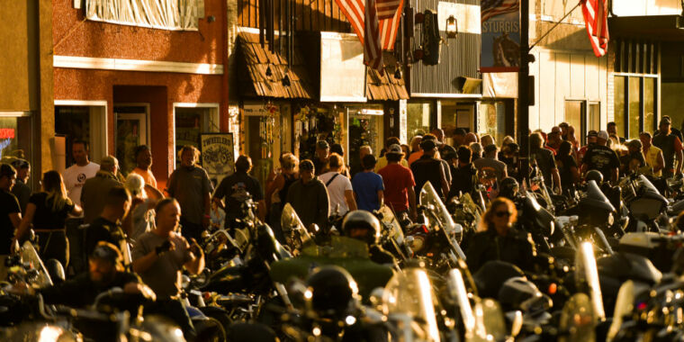 How does a Sturgis-sized crowd affect COVID-19? It's complicated