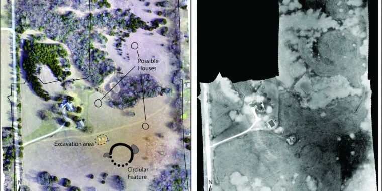 Archaeologists with drones discover pre-Columbian earthworks in Kansas thumbnail