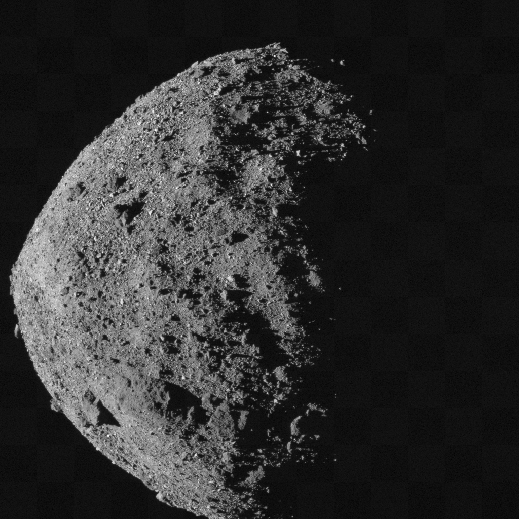 Bennu's surface proved rougher than anticipated.