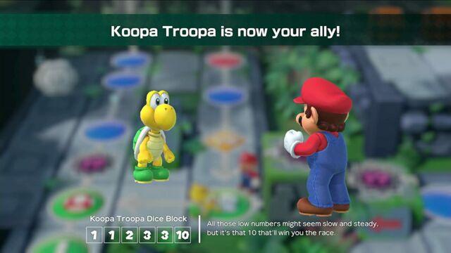 <em>Super Mario Party </em>for the Nintendo Switch.