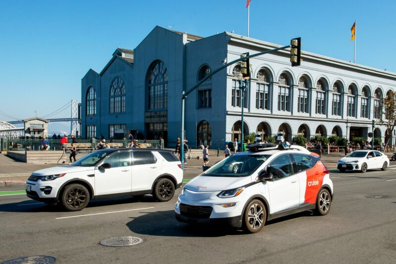 Cruise has been testing its self-driving cars, with safety drivers, in San Francisco for about five years.