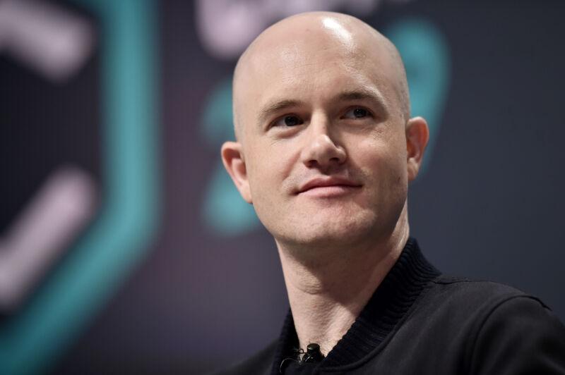 CEO Coinbase Brian Armstrong.