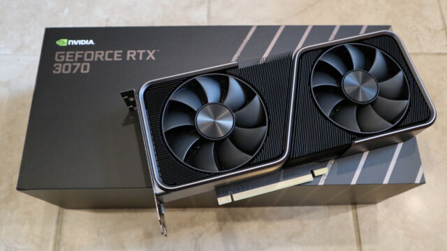 Nvidia RTX 3070 review: AMD's stopwatch just started ticking a lot louder