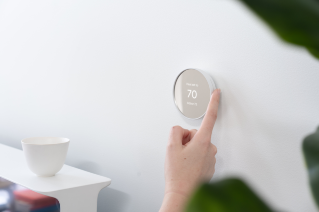 If you don't mind its simpler controls and inability to automatically set heating and cooling schedules, the Nest Thermostat is worth a look for those looking for an affordable smart thermostat.