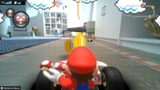 <em>Mario Kart Live: Home Circuit</em>.