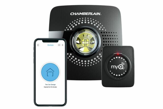 Chamberlain's MyQ Smart Garage Hub.