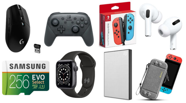 Nintendo's Switch Pro Controller and Joy-Cons are both $10 off today