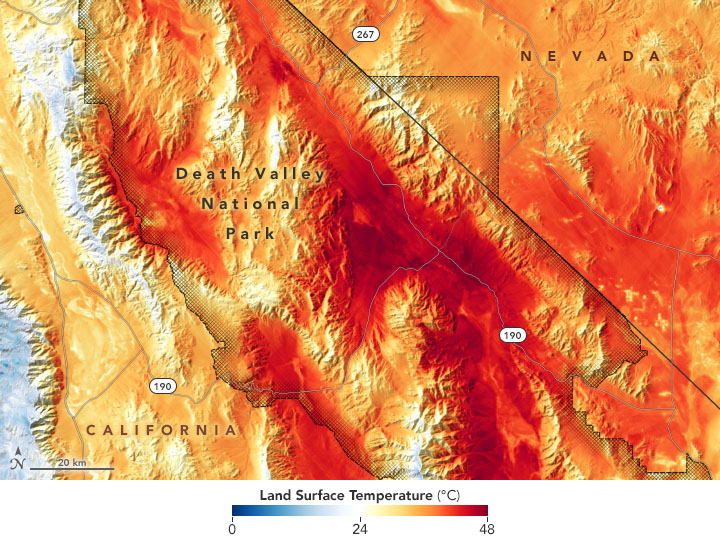 August 14 and 15 saw a heatwave drive rolling blackouts. And then on August 16, a station in Death Valley hit 130°F...