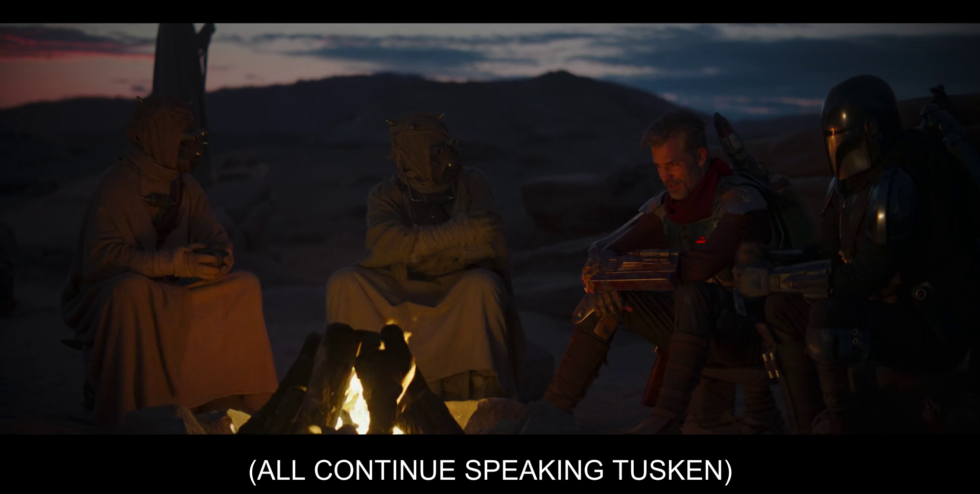 THIS MIGHT BE MY FAVORITE STAR WARS CLOSED CAPTION OF ALL TIME.