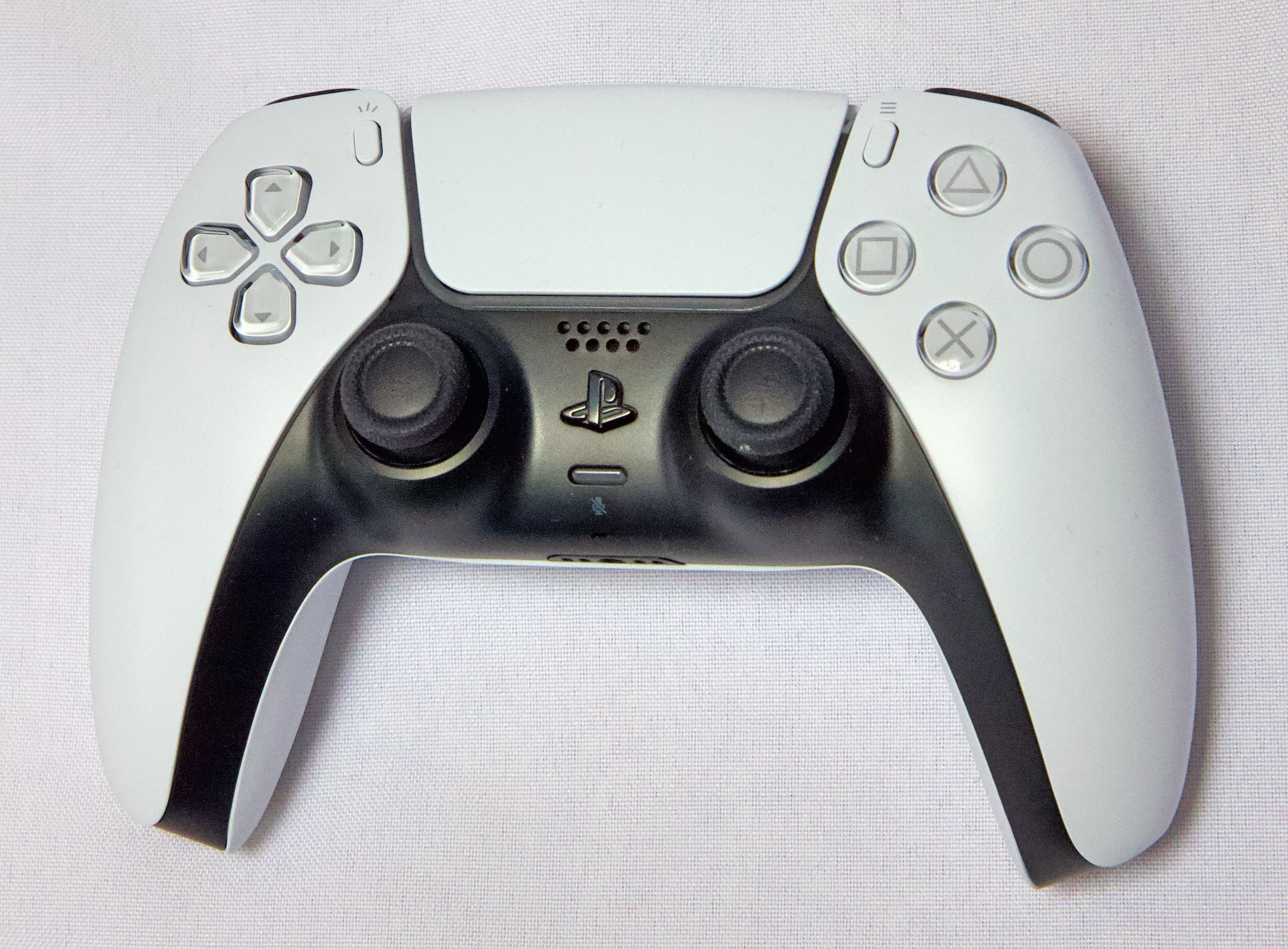 The DualSense controller for the PlayStation 5.