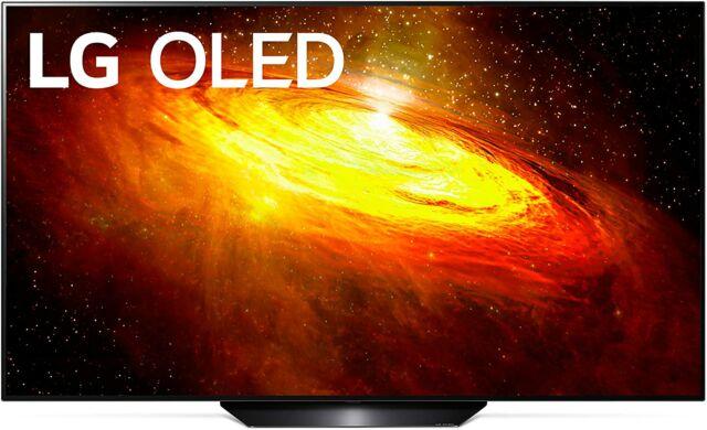 LG's BX OLED TV.