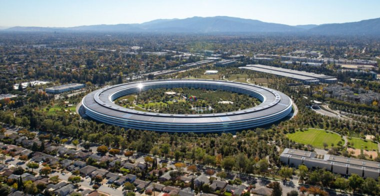 Apple's global headquarters in Cupertino, California.