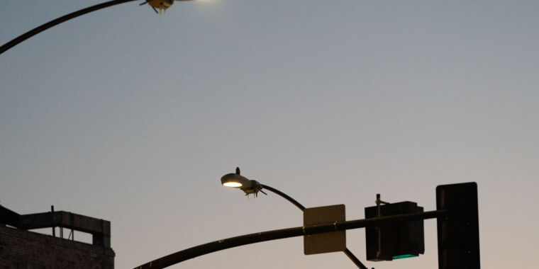 """San Diego's spying streetlights stuck switched """"on,"""" despite directive thumbnail"""