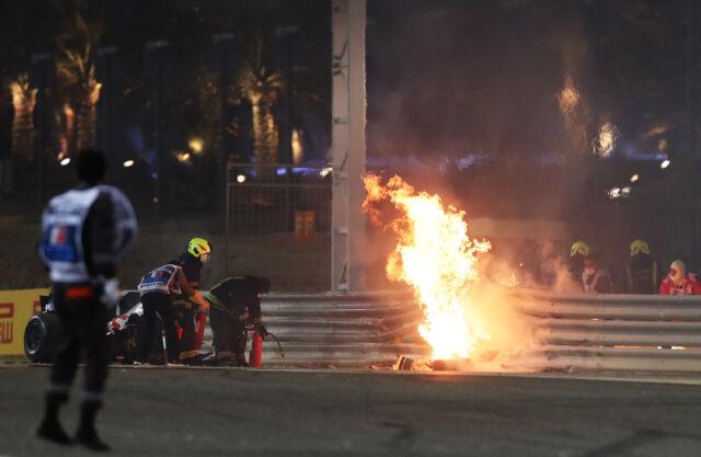 Romain Grosjean walked away from F1's scariest crash in decades