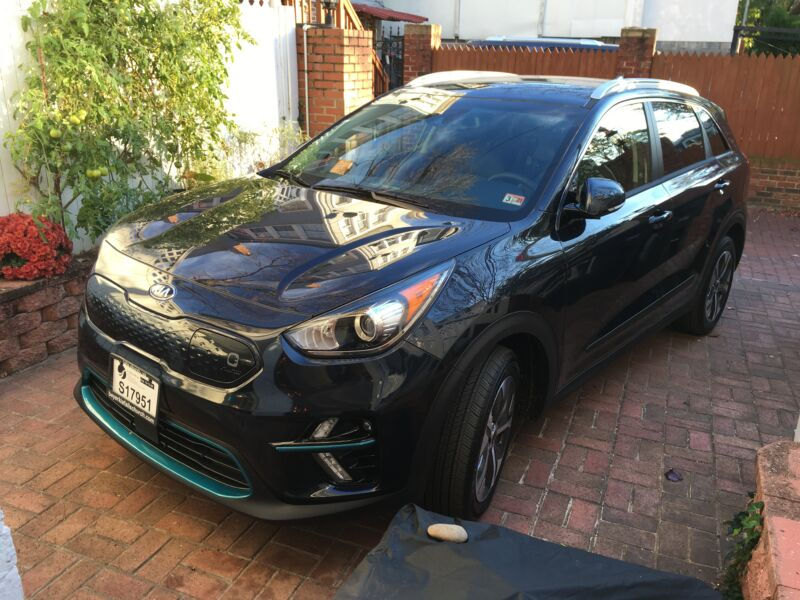 Our electric 2019 Kia Niro.