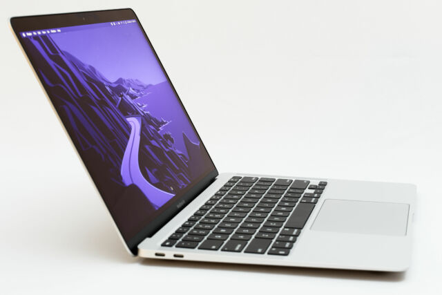 The M1 MacBook Air.
