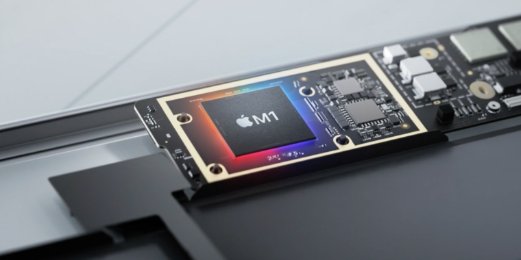 Apple dishes details on its new M1 chip thumbnail