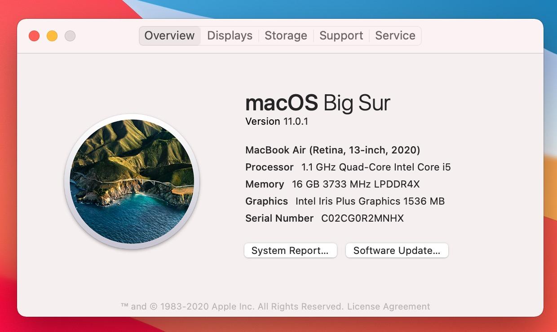 So long, Mac OS X.