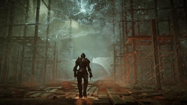 The <em>Demon's Souls</em>remake for PS5.